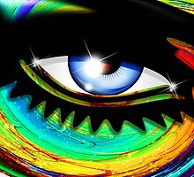 Psychedelic Eye Mesmerizing Look by BluedarkArt