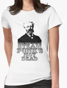 Jules Verne steampunk Womens Fitted T-Shirt