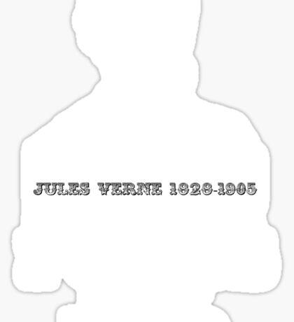 Jules Verne steampunk Sticker