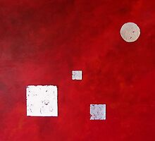 Red and Silver by Linda Ridpath