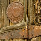 Barnboards and Rusty Hinge by Photopa