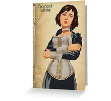Bioshock Infinite - Elizabeth  Greeting Card