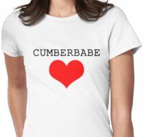 Cumberbabe Dark Heart Womens Fitted T-Shirt