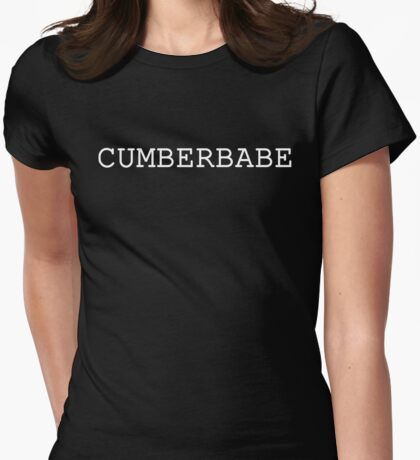Cumberbabe Light Womens Fitted T-Shirt