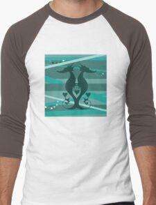 Sea Stallions Men's Baseball ¾ T-Shirt