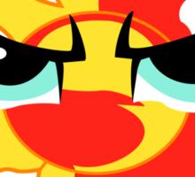 Sunset Shimmer Emblem Sticker