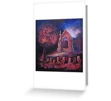 'Autumn Gold. Bolton Abbey' Greeting Card