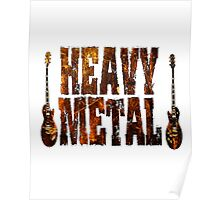 Heavy metal rules Poster