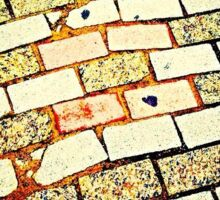 Brick Road Sticker