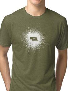 Nebraska Equality White Tri-blend T-Shirt