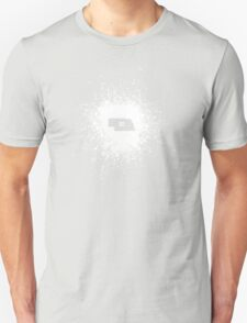 Nebraska Equality White Unisex T-Shirt