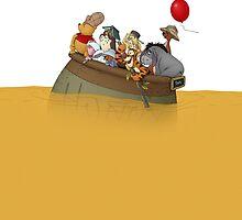 Winnie the Pooh by Hangagud