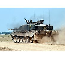 Challenger 2 Main Battle Tank (MBT) British Army Photographic Print