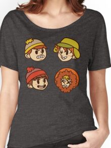 South Park Boys Chibi Heads Women's Relaxed Fit T-Shirt