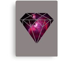 Galaxy Diamond Canvas Print