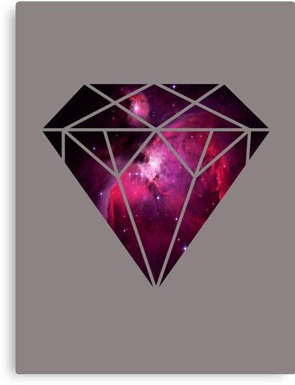 Galaxy Diamond by Keelin  Small