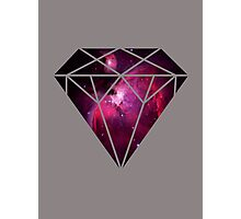 Galaxy Diamond Photographic Print