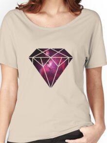 Galaxy Diamond Women's Relaxed Fit T-Shirt