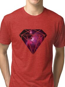 Galaxy Diamond Tri-blend T-Shirt