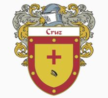 Cruz Coat of Arms/Family Crest Kids Clothes