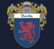 Davila Coat of Arms/Family Crest One Piece - Long Sleeve