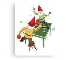Gnome Pong Canvas Print