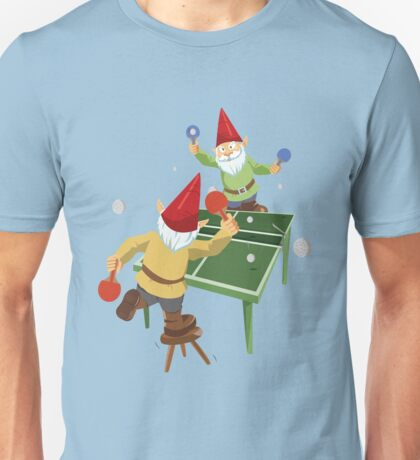 Gnome Pong Unisex T-Shirt