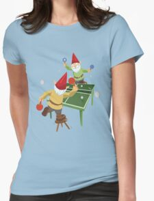 Gnome Pong Womens Fitted T-Shirt