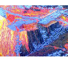The Wet (Tiger Eye) Photographic Print