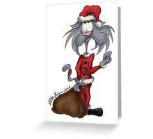 Gato christmas time #3 Greeting Card