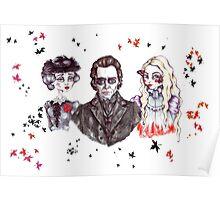 Thomas, Lucille & Edith in Crimson Poster
