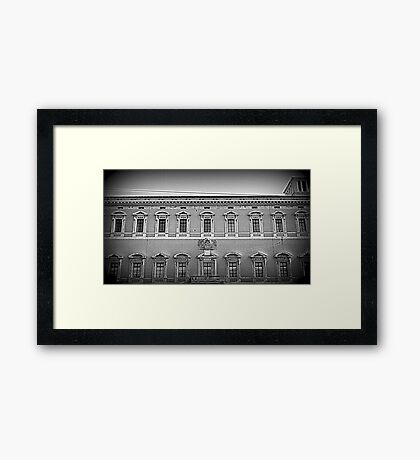 Architecture of the Italian Renaissance Framed Print