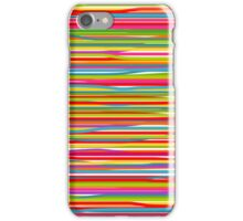 Abstract freehand lines of all colors  iPhone Case/Skin