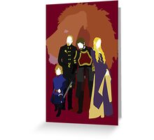 The Lannisters Greeting Card