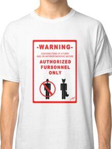 Authorized Fursonnel Classic T-Shirt