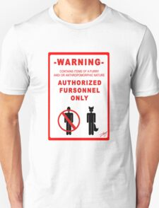 Authorized Fursonnel Unisex T-Shirt