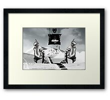 The Day The Music Died.... Framed Print