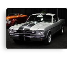 Ford Mustang Fastback - 5D20334 Canvas Print
