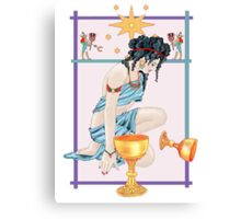 The Tarot Star Canvas Print