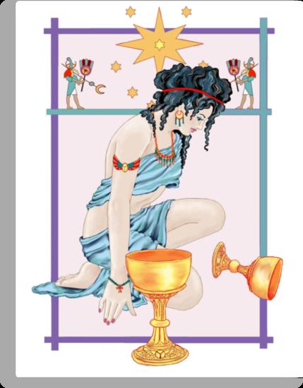 The Tarot Star by redqueenself