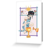 The Tarot Star Greeting Card