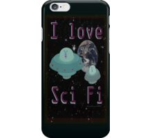 I Love Sci Fi iPhone Case/Skin