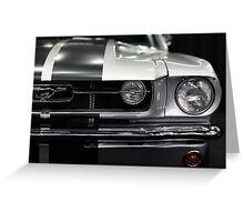 Ford Mustang Fastback - 5D20342 Greeting Card