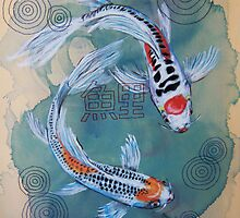Koi and Thread by Audrey Takeshta