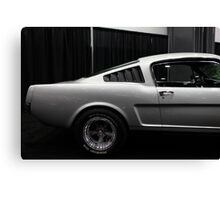 Ford Mustang Fastback - 5D20375 Canvas Print