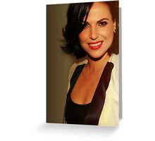 Lana Parrilla - Once Upon a Time - Windfall Greeting Card