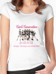 Girls' Generation Gee Logo Women's Fitted Scoop T-Shirt