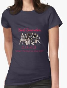 Girls' Generation Gee Logo Womens Fitted T-Shirt