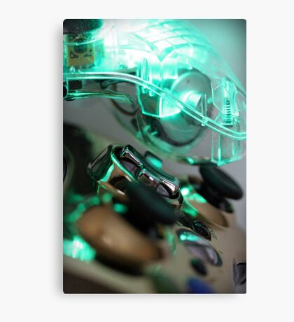 The Glowing Gamer Canvas Print