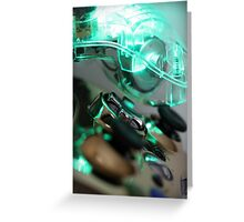 The Glowing Gamer Greeting Card